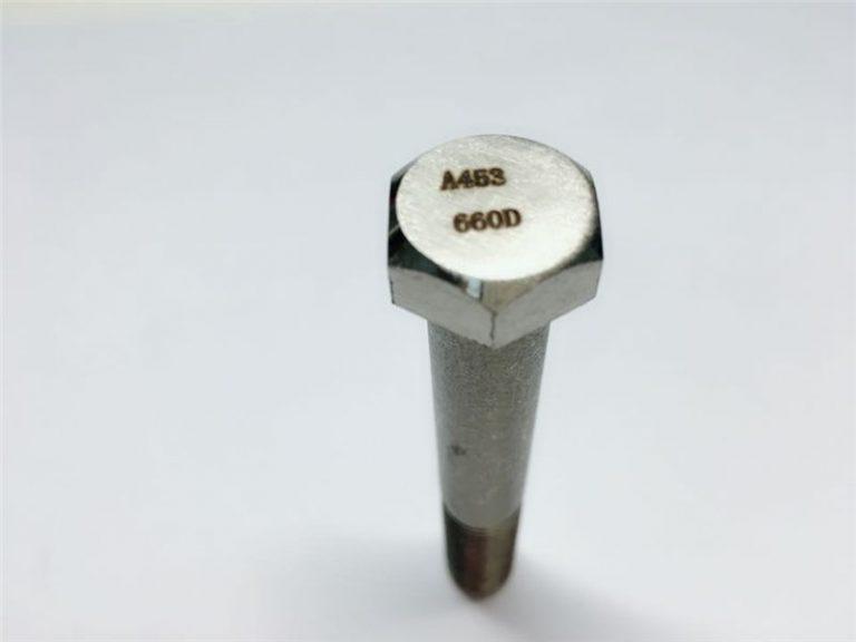 a286 ഉയർന്ന നിലവാരമുള്ള ഫാസ്റ്റനറുകൾ astm a453 660 en1.4980 ഹാർഡ്വെയർ മെഷീൻ സ്ക്രൂ ഫിക്സിംഗ്