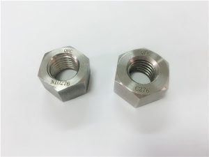 No.108-Manufacturer special alloy fasteners hastelloy C276 nuts