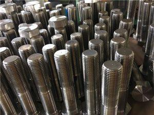No.12-hex bolts ISO4014 half thread A193 B8,B8M,B8T,B8C SS fastener