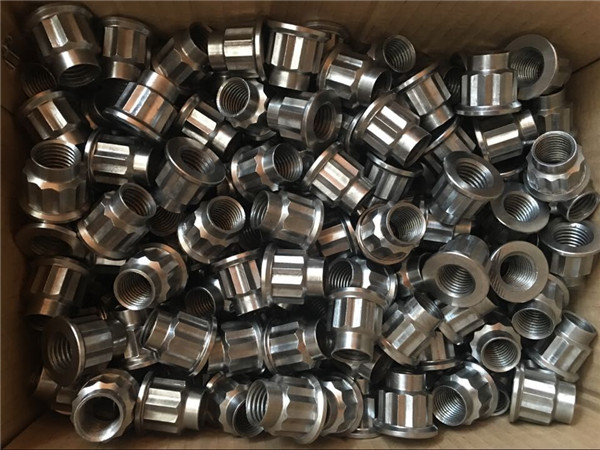 best quality cnc turning round stainless steel nut