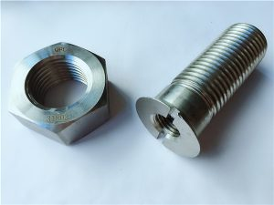 No.55-High quality duplex 2205 stainless steel bolts and nuts
