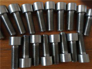 No.9-Incoloy 926 EN1.4529 UNS N08926 socket head screw fastener