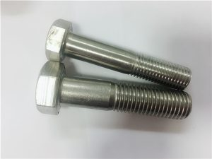 No.90-Cold hot Forged hex head bolt a4-80 din931