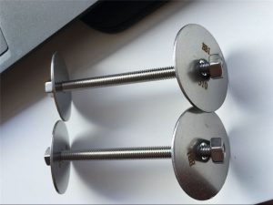 SS310S stud,nut with washer