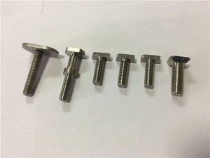 customized t bolt for railway fastening made in China