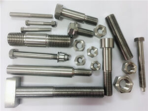 different kind custom made copper nickel fasteners