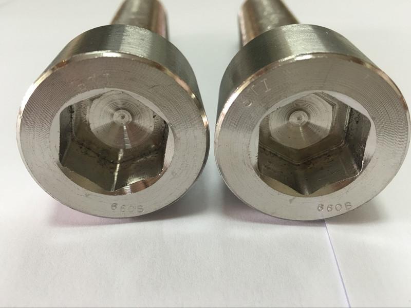 ഫാസ്റ്റനറുകൾ നിർമ്മാതാക്കൾ DIN 6912 ടൈറ്റാനിയം ഷഡ്ഭുജ സോക്കറ്റ് ഹെഡ് ബോൾട്ട്