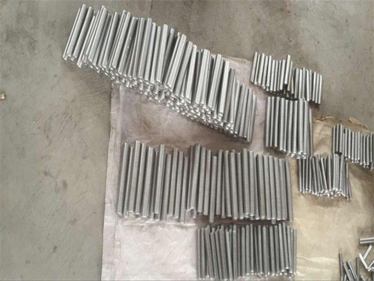 inconel 718 625 600 601 tap hex stud bolt and nut fastener M6 M120